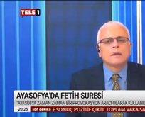 CHP yandaşı TELE 1'de Fetih rahatsızlığı