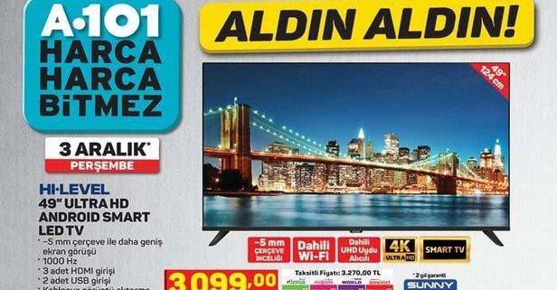 A101 aktüel ürünler 3 Aralık kataloğu! A101 aktüel katalog bu hafta hangi ürünler var?