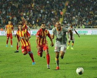 Yeni Malatyaspor Galatasaray maçında flaş olay!
