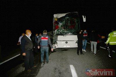 Nevşehir'de otobüs kazası! 39'u öğrenci 44 yaralı: Valilikten ilk açıklama