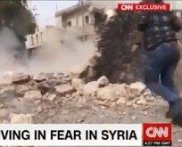 CNNde Türkiye sivilleri vuruyor yalanı