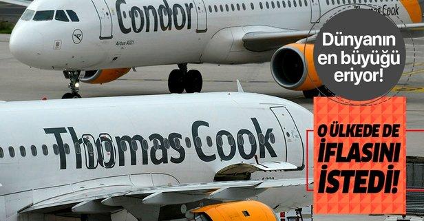 Thomas Cook Almanya'da da iflasını istedi!