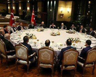 Cumhurbaşkanı Erdoğan eğitimcileri ağırladı