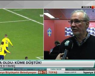 Lucescunun basın toplantısında şok!