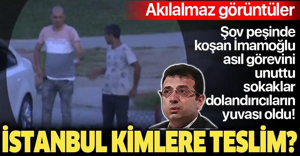 Şov peşinde koşan İmamoğlu asıl görevini unuttu! İstanbul değnekçilerin işgali altında