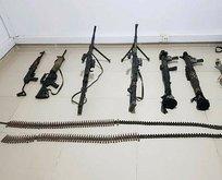 PKK'nın 13 sivili katlettiği mağarada mühimmat ele geçirildi!