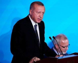 Başkan Erdoğan'dan BM'de önemli açıklamalar