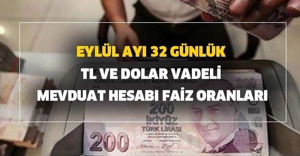 Merkez bankası müdahalesi sonrası faiz yükseldi! 32 günlük TL ve dolar...