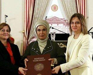 Emine Erdoğan söyleşiye katıldı