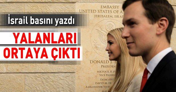 İsrail'in elçilik töreni yalanı ortaya çıktı!