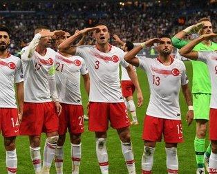 Milli Takım'da asker selamı kararı