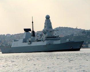SON DAKİKA: Karadeniz'de Rusya ile gerilimi artıran İngiliz savaş gemisi 'HMS Defender' Boğaz'dan geçerek görev yerinden ayrıldı