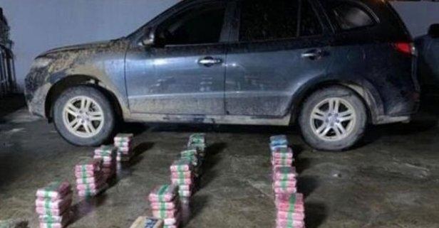 Ülke şokta! Valinin aracından 79 paket uyuşturucu çıktı