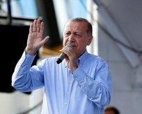 """Erdoğan: """"Ey Muharrem senin ecdadın da böyleydi"""""""