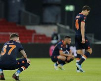 Süper Lig şampiyonu Başakşehir Avrupa'ya veda etti