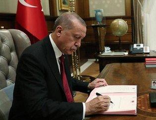 Başkan Recep Tayyip Erdoğan'ın imzasıyla yapılan atama kararları Resmi Gazete'de