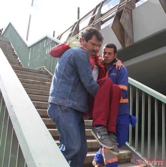 Dünya Engelliler Günü'nde İBB'den şoke eden görüntü!