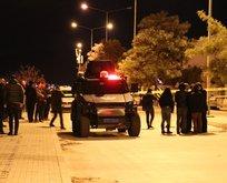 İzmir'de hareketli dakikalar...