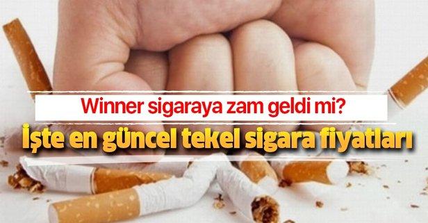 Winner sigaraya zam geldi mi?