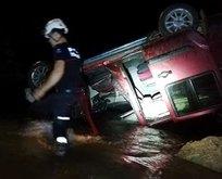 Alanya'da korkunç kaza: 1 ölü