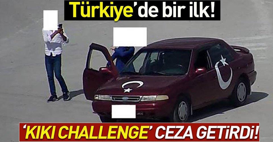 Türkiyede bir ilk! Ceza kesildi