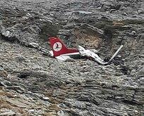 Denizlide düşen uçaktan acı haber