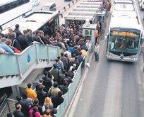 Metrobüste panik bombası
