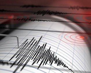 Amasya korkutan deprem!