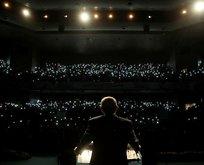 Başkan Erdoğan'a büyük sürpriz: Işıklar söndü...