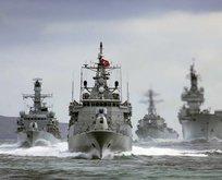 Türk savaş gemileri Akdenize iniyor!