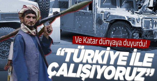 Katar'dan Kabil açıklaması: Türkiye ile çalışıyoruz