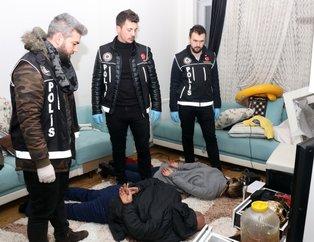 İstanbul'da rezidansa şok baskın! Evin banyosuna bile makine kurmuşlar