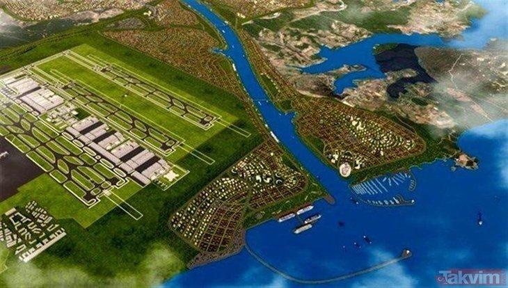 Kanal İstanbul Projesi'nde 'yeni şehir' için ilk adım atıldı