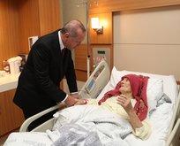 Başkan Erdoğandan anlamlı ziyaret