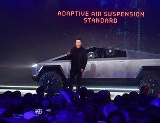 Tesla'nın patronu Elon Musk resmen tanıttı! İşte zırhlı ve elektrikli pick-up Cybertruck