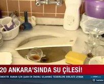 2020 Ankara'sında su çilesi!