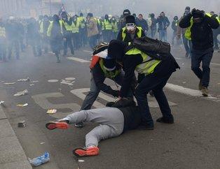 Fransa'da sarı yelekliler yine sokaklara çıktı