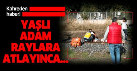 Son dakika: Manisa'da yük treninin çarptığı adam hayatını kaybetti