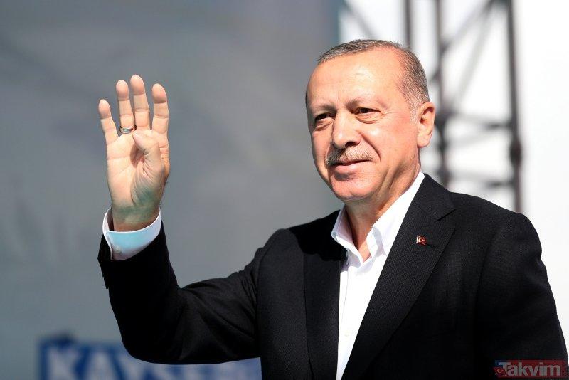 Başkan Erdoğan Kayseride