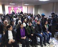 HDP'li vekiller PKK'lı teröristleri anma töreninde