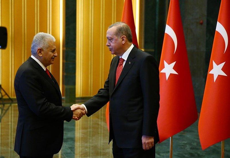 Cumhurbaşkanı Erdoğan Külliyede tebrikleri kabul etti!