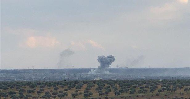 Rusya İdlib'e hava saldırısı başlattı