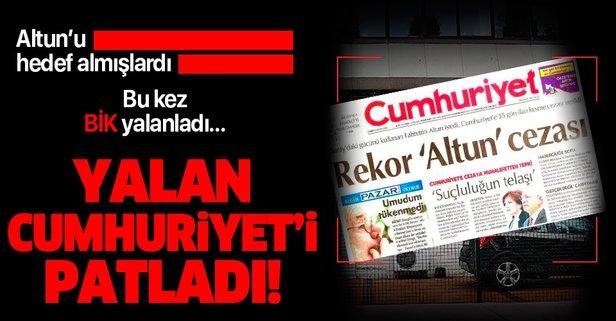 BİK'ten Cumhuriyet'e yalanlama!