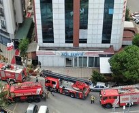 İstanbul'da hastane yangını! Çok sayıda ekip bölgede