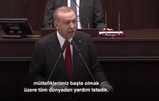 Başkan Erdoğan'dan dünyaya tarihi mesaj