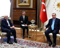 Cumhurbaşkanı Erdoğan, Cevad Zarif'i kabul etti