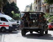 Beyrut'ta hareketli anlar! Göstericilere ateş açıldı