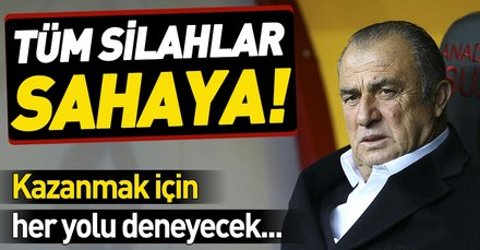 Galatasaray 5 hücumcuyla Kadıköy'de zafer arayacak