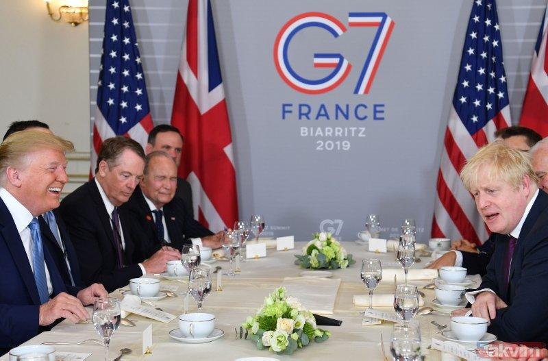 G7 Zirvesi kapsamında 68 gözaltı! Fransa'daki zirveye bu kareler damga vurdu