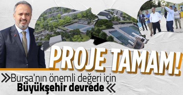 Havuzlupark için Bursa Büyükşehir Belediyesi devrede